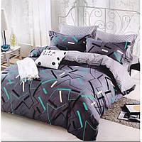 Полуторное постельное белье Сатин Люкс (100% хлопок) - KWL1903 (50x70)