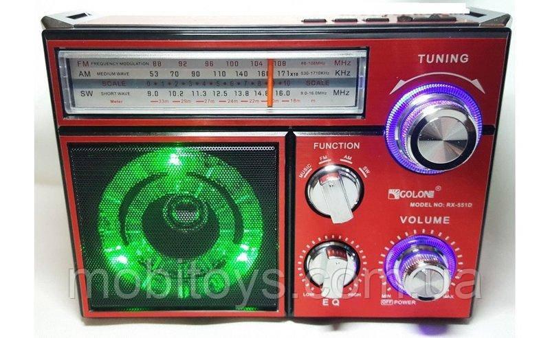 Портативный радиоприемник Golon RX-553D (5297)