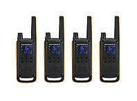 Комплект раций для активного отдыха Motorola T82 EXT QUAD ActiveTeam