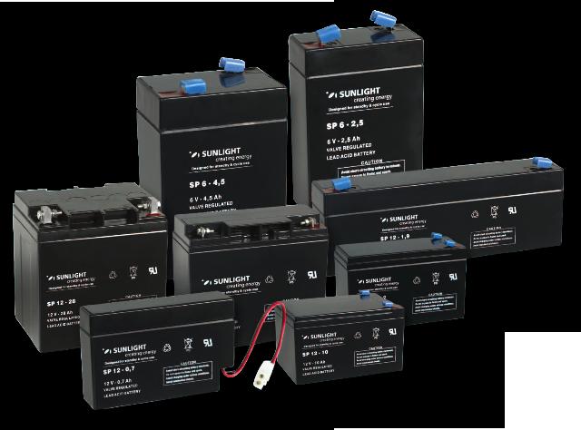 Аккумуляторная батарея SunLight SPb 12-100