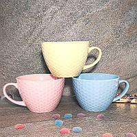 Большая керамическая кружка для чая/бульона Helios 470 мл (2628/1)