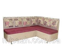 """Кухонный уголок """"Милан""""  с подушками.   витрина 24"""