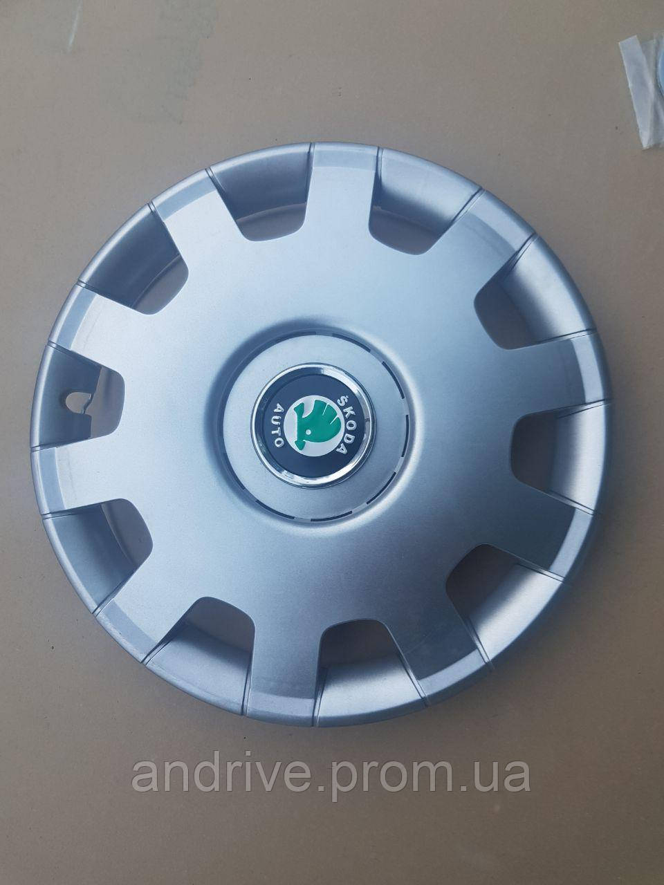 Колпаки на колеса R14 SKODA полный комплект SJS (Турция)
