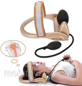 Тренажер для коррекции шейного отдела позвоночника Сervical vertebra traction (34789)