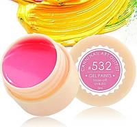 Гель-краска CANNI 5мл №532 насыщенная ярко-розовая