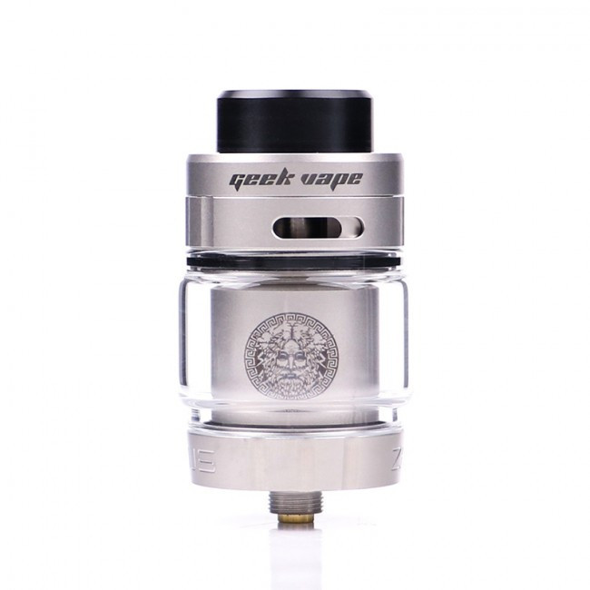 Атомайзер GeekVape Zeus Dual RTA 5.5 мл Silver