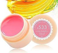 Гель-краска CANNI 5мл №533 пастельная оранжево-розовая