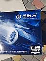 Колпаки на колеса (широкие) R16 MERCEDES SPRINTER полный комплект SJS (Турция), фото 4
