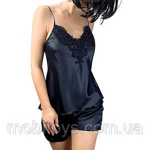 Женская атласная пижама Луция (размер М)
