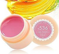 Гель-краска CANNI 5мл №536 серо-розовая
