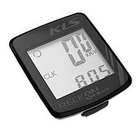 Велокомпютер дротовий Kls ReckON 9 Black SKL35-250885