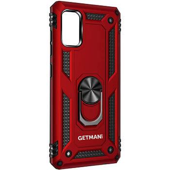 Ударопрочный чехол GETMAN Serge Ring for Magnet для Samsung Galaxy A31