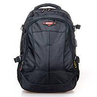 Универсальный мужской рюкзак Power In Eavas цвет черный (9648 black)