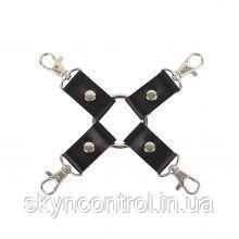 """Фиксатор Leather Fixer """"Slave"""", Black, фото 2"""