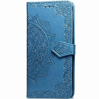Кожаный чехол (книжка) Art Case с визитницей для Meizu M5s