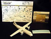 Комплект детализации для модели самолета ATR 42-500. 1/144 METALLIC DETAILS MD14408
