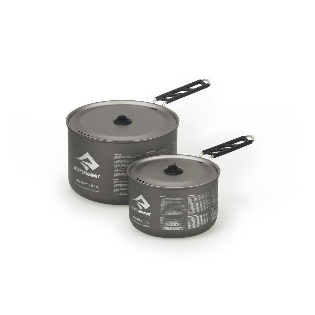 Набір посуду Sea To Summit Alpha Pot Set 2.0 Grey