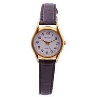 Часы наручные Oriext 3219-А ремешок желт. корпус, наручные часы, браслет на часы, ремешок, женские