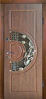 Двері вхідні, МДФ, 960x2050, зовнішні, праві, №Н-0206