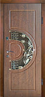 Двері вхідні, МДФ, 960x2050, зовнішні, праві, №Н-0232