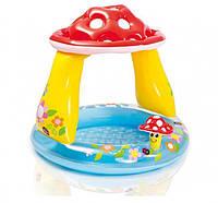 """Детский надувной бассейн Intex 57114 """"Грибочек"""""""