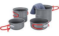 Набор посуды для 1-2 человек Terra Incognita Du Серый (TI-DU)
