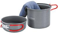 Набор посуды для 1 человека Terra Incognita Uno Серый (TI-UNO)
