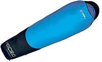 Спальник Terra Incognita Compact 1000 L лівий Синій / сірий (TI-03477L)