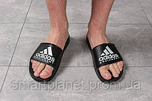 Шлепанцы мужские 16292, Adidas Equipment, черные, < 42 43 44 45 > р. 42-26,9см., фото 2
