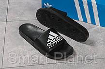 Шлепанцы мужские 16292, Adidas Equipment, черные, < 42 43 44 45 > р. 42-26,9см., фото 3