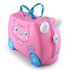 Оригинал. Чемодан детский на колесах Poppet Moshi Monsters Trunki TRU0126