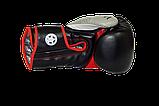 Боксерські рукавиці PowerPlay 3006 Чорні 16 унцій, фото 2