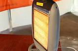 Галогеновный обігрівач 1200 WL1424 ПН (інфрачервоний обігрівач), фото 2