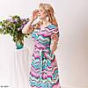 Яркое летнее платье на запах в актуальных цветах и с крутым принтом!, фото 8