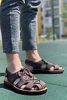 Сандалии мужские коричневые 9