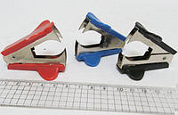 Антистеплер 16462 (червоний, синій, чорний) уп24