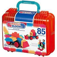 Battat Конструктор бристл 85 деталей в кейсе 3071Z Bristle Blocks adventure Carry Case, фото 1