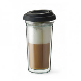 Стакан с двойным дном 400 мл Simax Coffee To Go 2102/CTG
