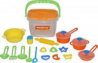 Набор детской посуды, 20 элементов