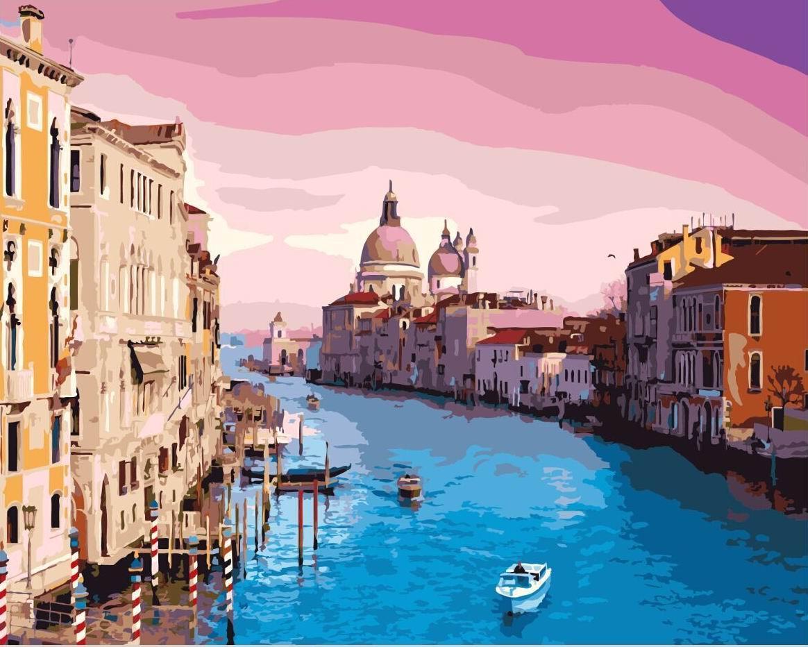 Картина по номерам Brushme Венеция GX8337 40х50см брашми Городские пейзажи и сооружения