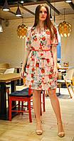 Платье Alani-1172 белорусский трикотаж, розовый, 44, фото 1