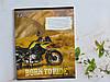 Тетрадь школьная в линейку 18 листов Лидер, крутые мотоциклы, фото 6