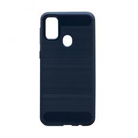 Силиконовый противоударный чехол Polished Carbon для Samsung Galaxy M31 2020