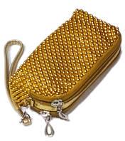 Кошелек для мелочи золотой, фото 1