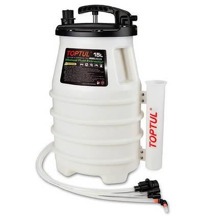 Приспособление для откачки тормозной жидкости  TOPTUL JJBZ0115, фото 2