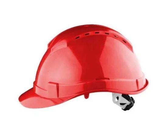 Каска защитная строительная SIZAM, SAFE-GUARD 2120 красная