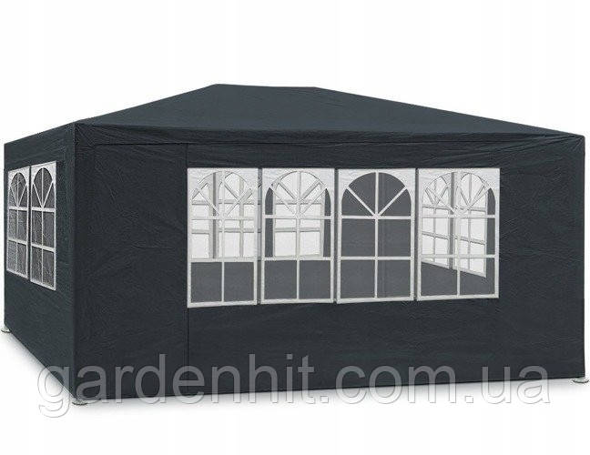 Садовый павильон тент 3x4 м + 4 стены