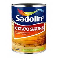 Лак для бани Sadolin Celco Sauna Бесцветный 1 л