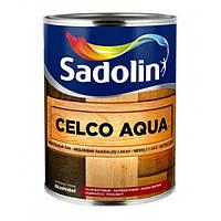 Лак для дерева на водной основе Sadolin Celco Aqua Бесцветный 1 л