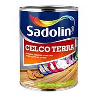 Износостойкий лак для пола Sadolin Celco Terra Бесцветный 1 л